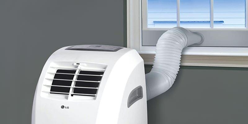 Esempio di un climatizzatore portatile
